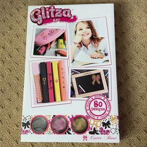 NEW IN BOX glitza art craft box